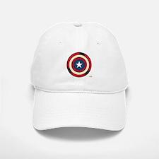 Captain America Comic Shield Baseball Baseball Cap