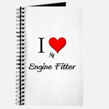 I Love My Engine Fitter Journal