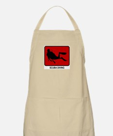 Scuba Diving (red) BBQ Apron