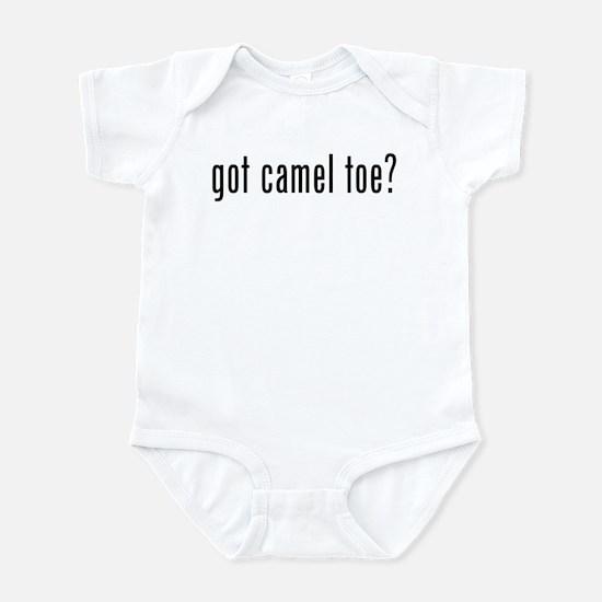 got camel toe? Infant Bodysuit