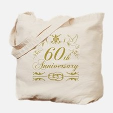 Unique Just married 60 years ago Tote Bag