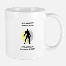 Librarian Superhero Mug