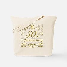 Unique 50th wedding anniversary Tote Bag