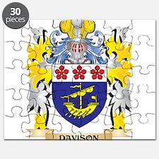 Davison Coat of Arms - Family Crest Puzzle