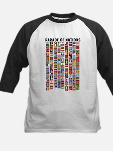 Parade of Nations Kids Baseball Jersey