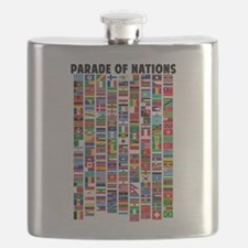 Parade of Nations Flask