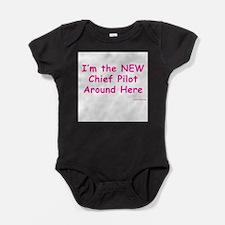 Unique Pilot Baby Bodysuit