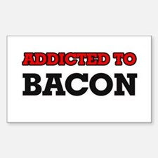 Addicted to Bacon Decal