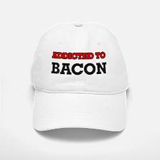 Addicted to Bacon Baseball Baseball Cap