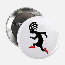 """Kokopelli Runner 2.25"""" Button"""