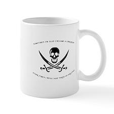 Pirating Librarian Mug