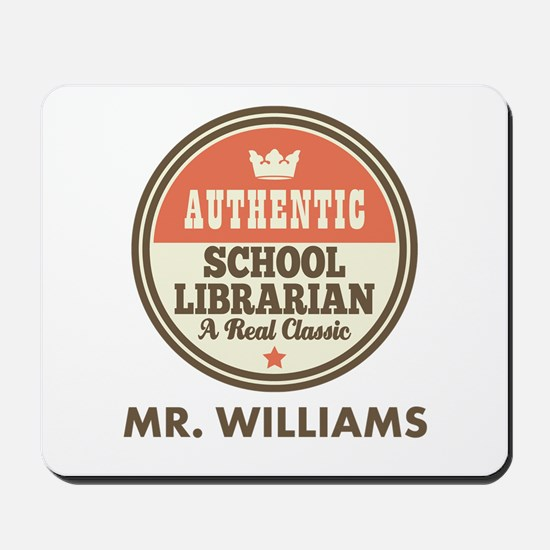 Personalized School Librarian Mousepad