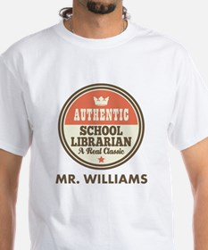 Personalized School Librarian T-Shirt
