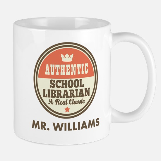 Personalized School Librarian Mugs