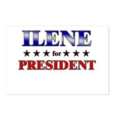 ILENE for president Postcards (Package of 8)