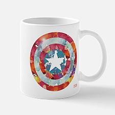 Captain America Tie-Dye Shield Mug
