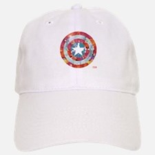 Captain America Tie-Dye Shield Baseball Baseball Cap