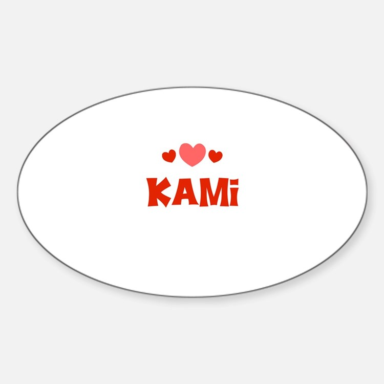 Kami Oval Decal