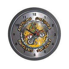 Extreme Dirt Bike Wall Clock