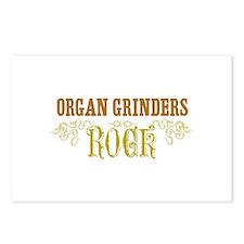 Organ Grinders Postcards (Package of 8)