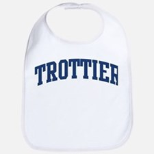 TROTTIER design (blue) Bib