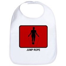 Jump Rope (red) Bib