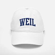 WEIL design (blue) Baseball Baseball Cap