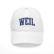 WEIL design (blue) Baseball Cap