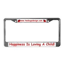 Two Bugs Design License Plate Frame
