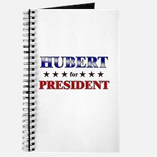 HUBERT for president Journal