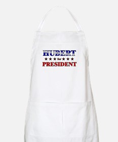 HUBERT for president BBQ Apron