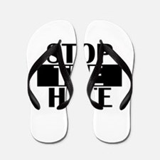 Unique All blacks Flip Flops