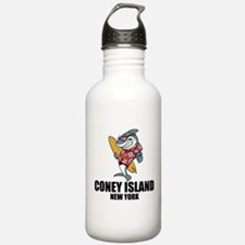 Coney Island, New York Water Bottle