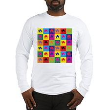 Pop Art Camel Long Sleeve T-Shirt