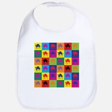 Pop Art Camel Bib