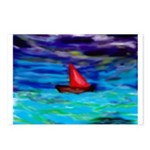 Red Boat Postcards (Package of 8)