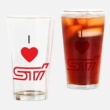 Funny Subarus Drinking Glass