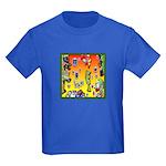GRAFFITI ART Kids Dark T-Shirt