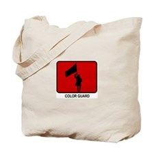 Color Guard (red) Tote Bag