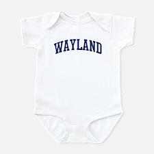 WAYLAND design (blue) Infant Bodysuit
