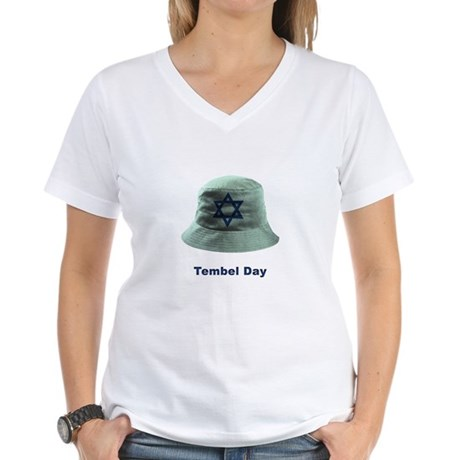 tambel day Women's V-Neck T-Shirt