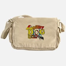 English Toy Spaniel Agility Messenger Bag
