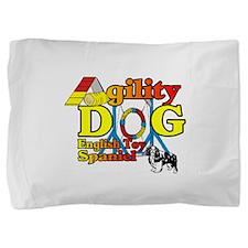 English Toy Spaniel Agility Pillow Sham