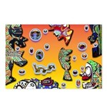 GRAFFITI ART Postcards (Package of 8)
