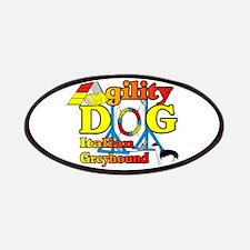 Italian Greyhound Agility Patch