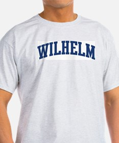 WILHELM design (blue) T-Shirt