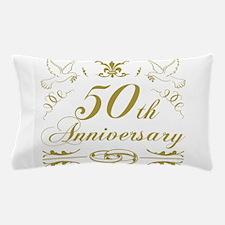 50th Wedding Anniversary Pillow Case