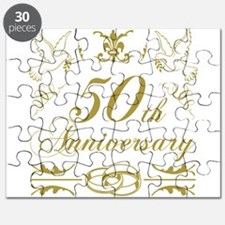50th Wedding Anniversary Puzzle