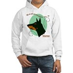 Happiness is doberman Hooded Sweatshirt