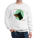 Happiness is doberman Sweatshirt
